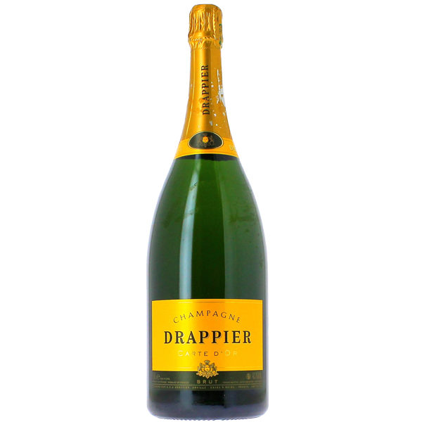 mw company - mw club - champagnes - vins - rouge - drappier carte d'or magnum